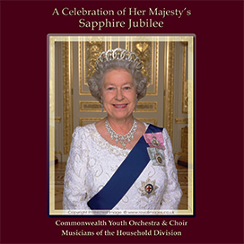 A celebration of her Majesty's Sapphire Jubilee CD